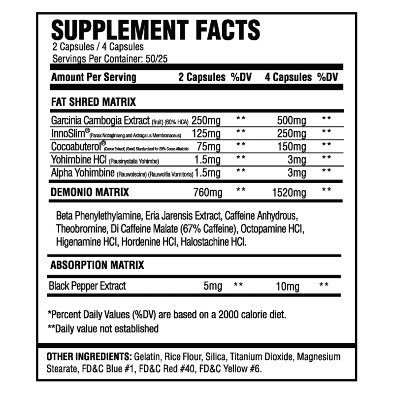 ASC Supplements Demonio   Muscle Players