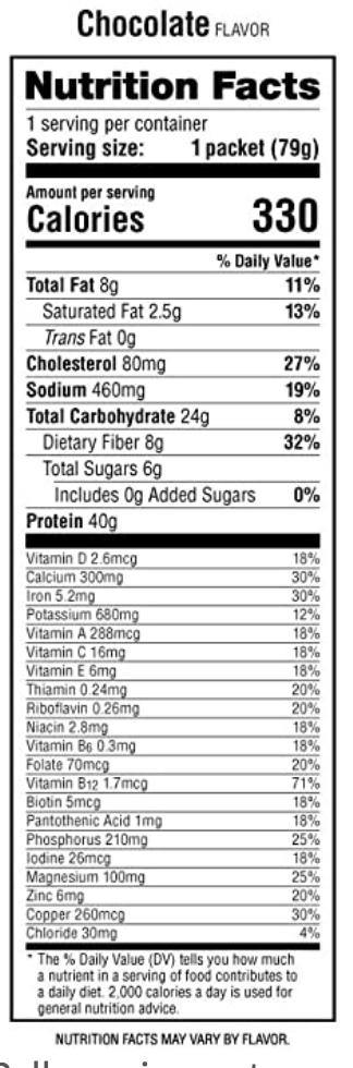 Labrada Lean Body Meal Replacement Packets | Muscle Players