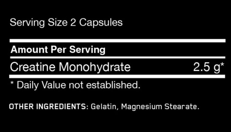 Optimum Nutrition Creatine 2500 Caps   Muscle Players