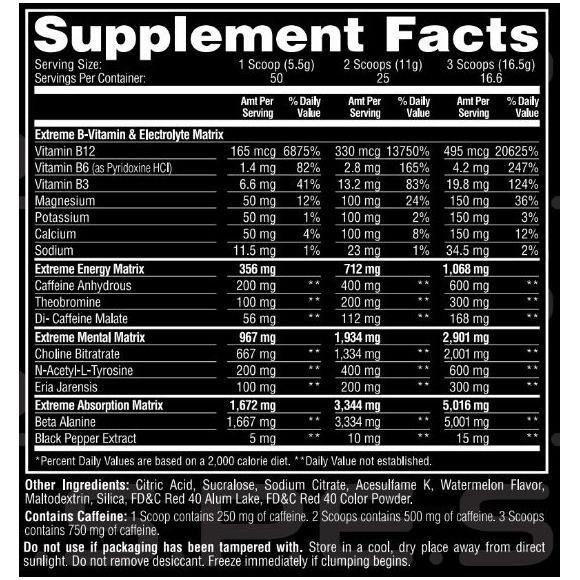Metabolic Nutrition ESP Extreme | Muscle Players