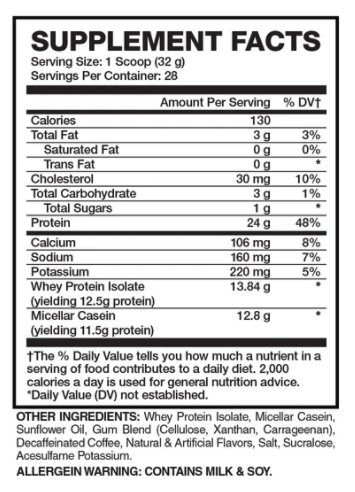 Apollon Nutrition 50/50 Formula-X | Muscle Players