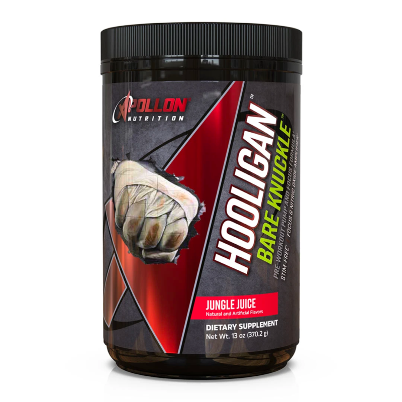 Apollon Nutrition Bare Knuckle (2021 EDITION) | Muscle Players
