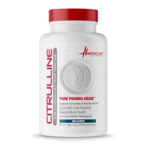 Metabolic Nutrition Citrulline Powder | Muscle Players
