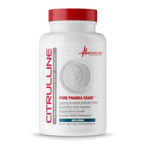 Metabolic Nutrition Citrulline Powder   Muscle Players