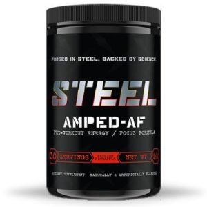 Steel Supplements Amped AF | Muscle Players
