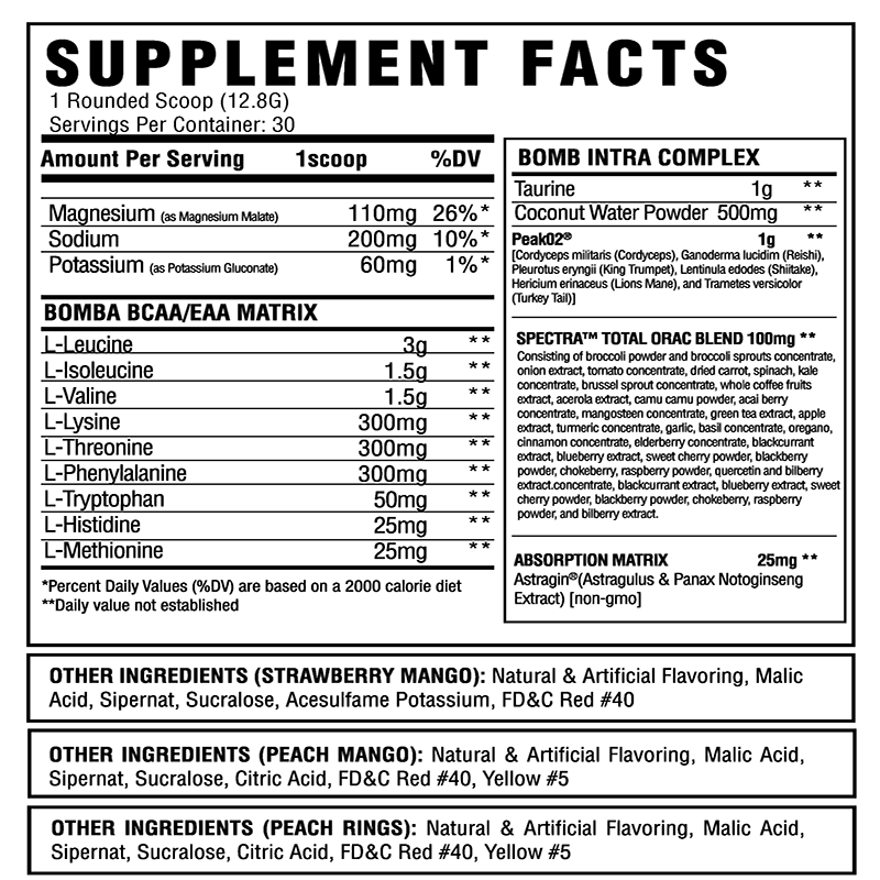 ASC Supplements Bomba | Muscle Players