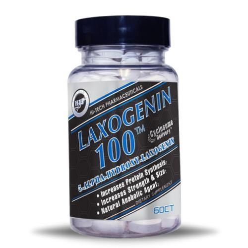 Hi-Tech Pharmaceuticals Laxogenin 100   Muscle Players