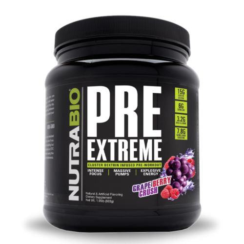 NutraBio Pre Extreme | Muscle Players