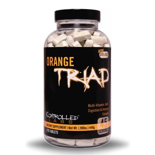 Controlled Labs Orange Triad Multivitamin | Muscle Players