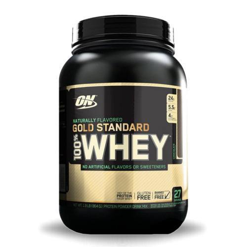 """Optimum Nutrition Gold Standard 100% Whey """"Natural""""   Muscle Players"""