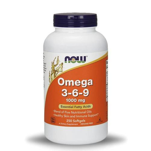 Now Omega 3-6-9, 1000 mg | Muscle Players