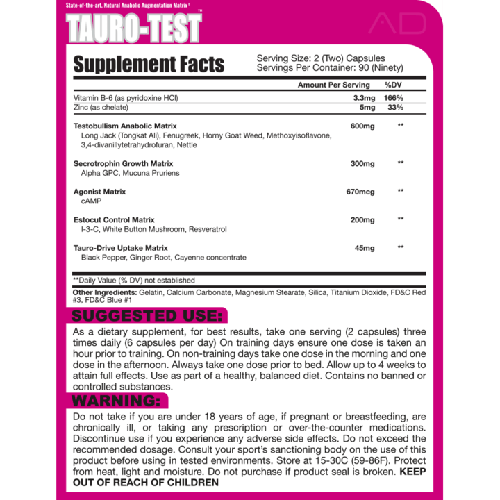 Project AD Tauro Test